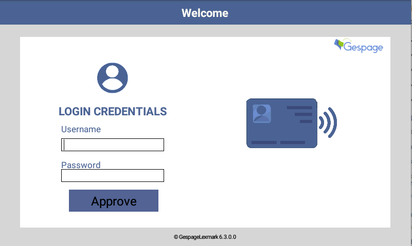 Embedded terminal Lexmark